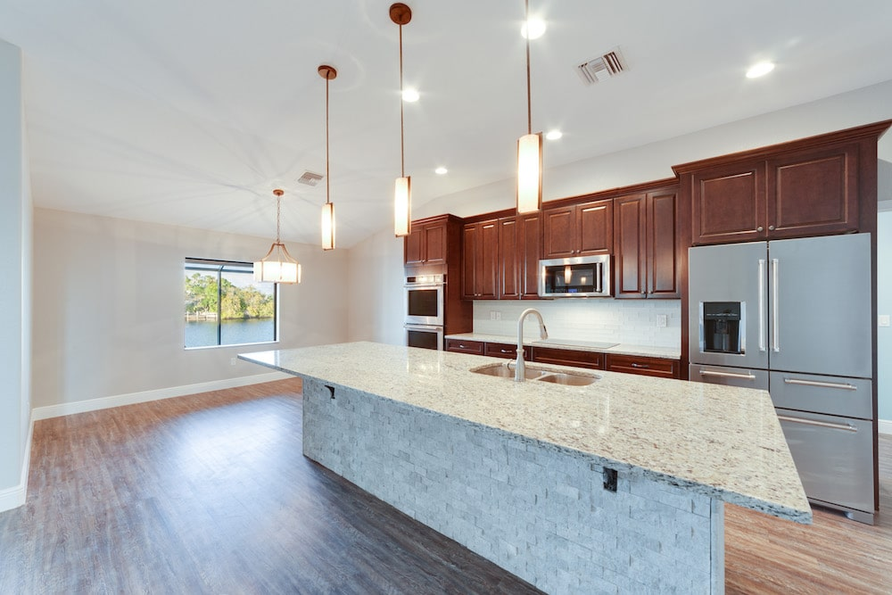 33rd Street Cape Coral Custom Home Builder Kitchen