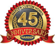 45 Year Anniversary Banner as a Cape Coral Builder