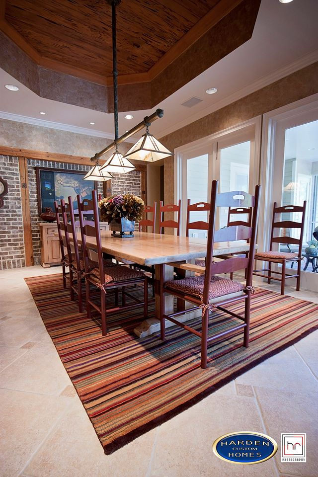 Luxury Home Custom Home Builder Dining Room