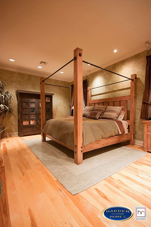 Luxury Home Custom Home Builder Master Bed