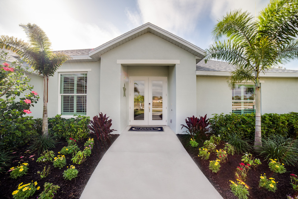 Cape Coral Home Builder Furnished Model Home and Sales Center