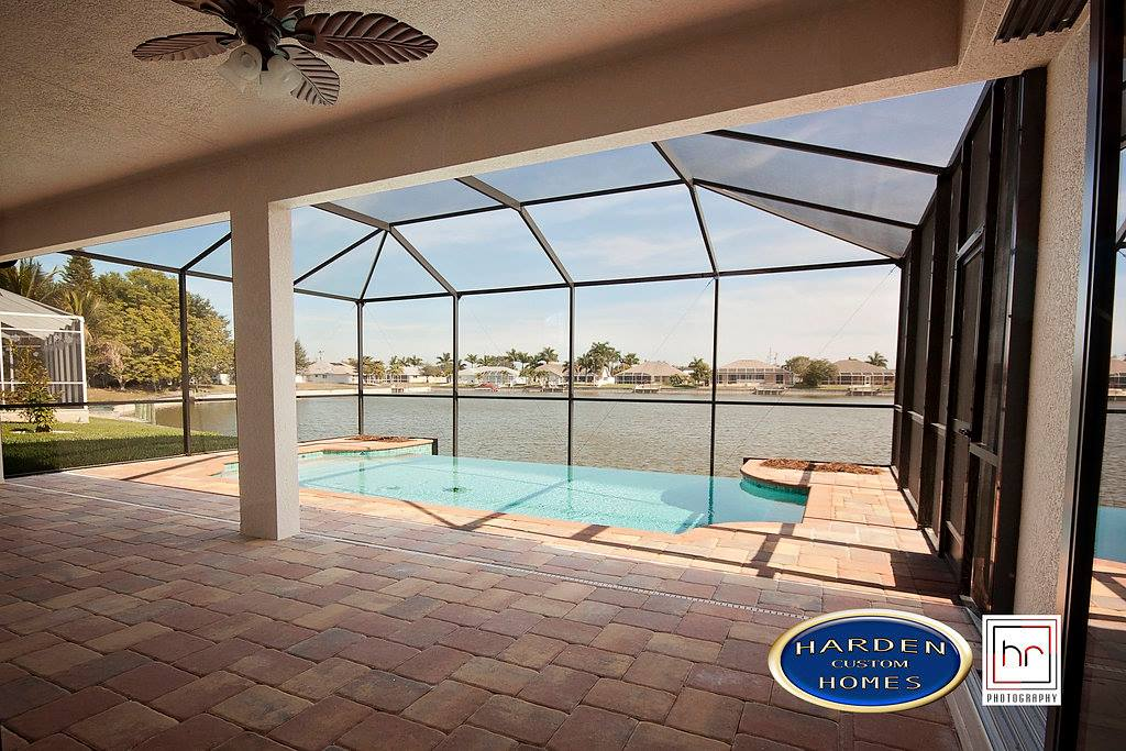 NE 22nd Ave Cape Coral Home Builder Custom Pool