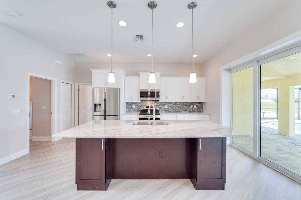 NW Cape Coral Custom Home Builder Kitchen