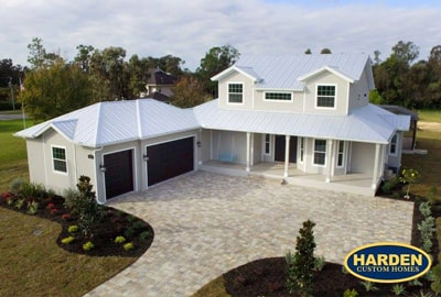 Old Florida Style Custom Home