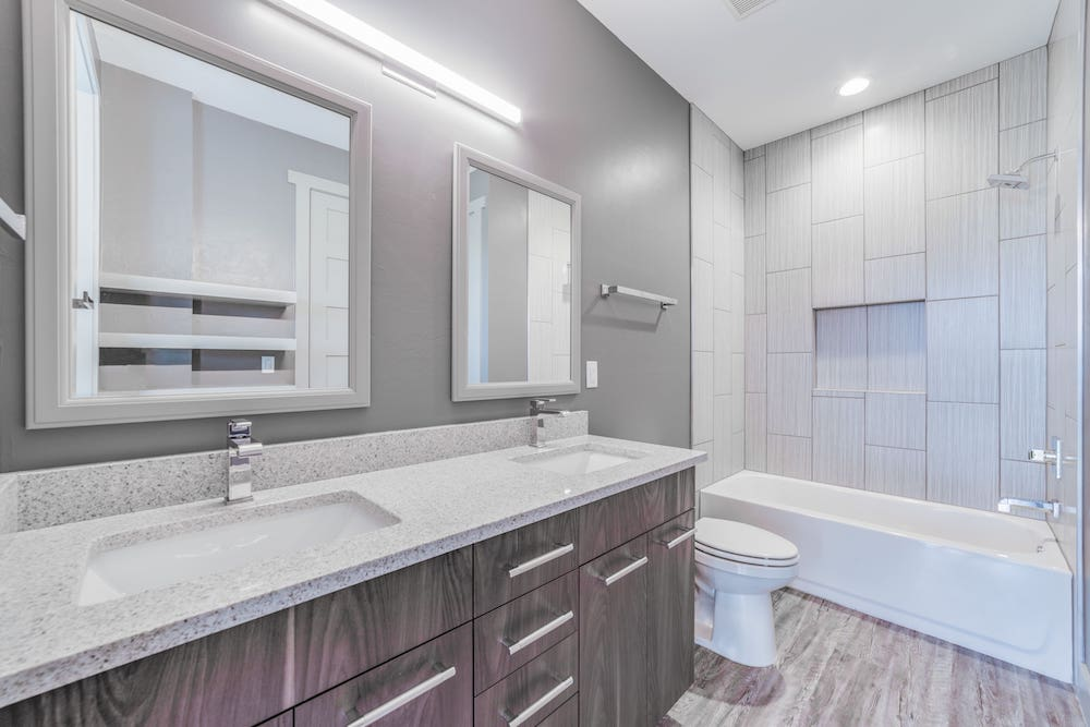 Owen Cape Coral Custom Home Builder Guest Bathroom