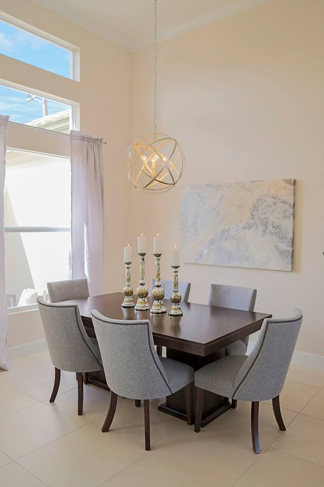 Pelican Cape Coral Custom Home Builder Dining Room