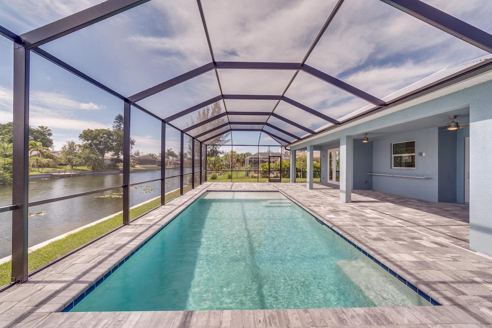 Cape Coral Home Builder Southwest 5th Cape Pool